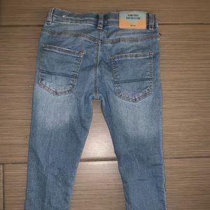Zara boy skinny jeans size 3-4yrs